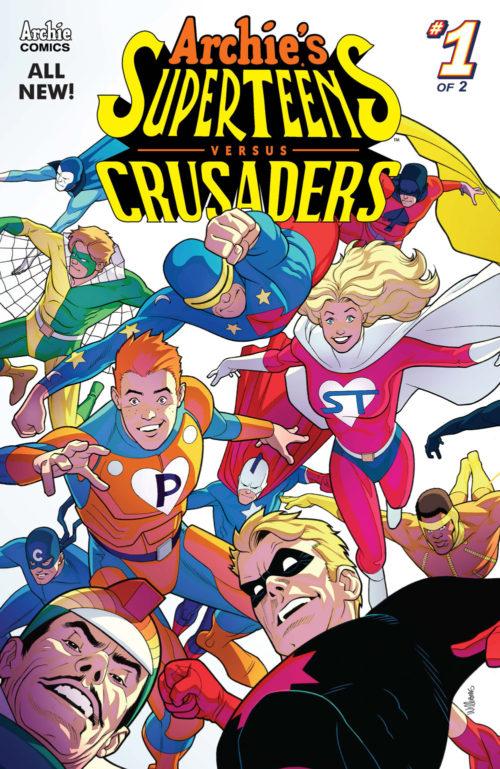Archies Superteens vs Crusaders #1