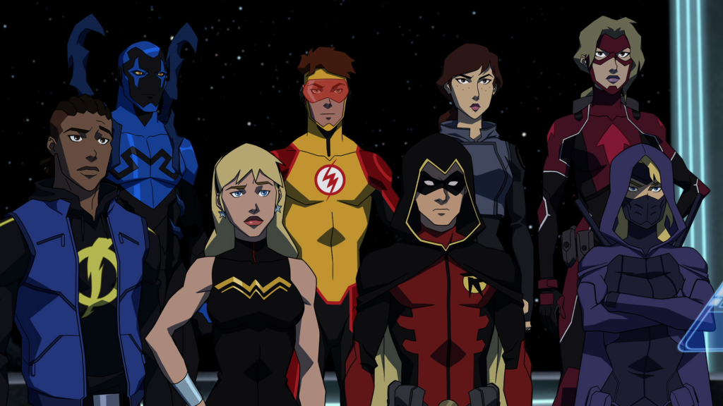 Young Justice Outsiders Team